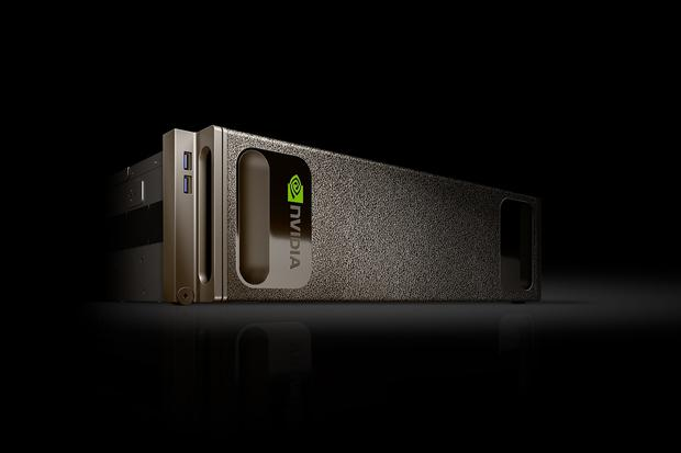 Nvidia's DGX-1 supercomputer packs the horsepower of 250 servers. Credit: Nvidia