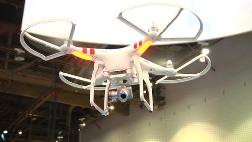 DJI's Phantom 2 Vision Plus drone has a new camera and gimbal, allowing it to shoot stable video in flight.