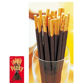 Ezaki Glico is the manufacturer of Pocky snacks