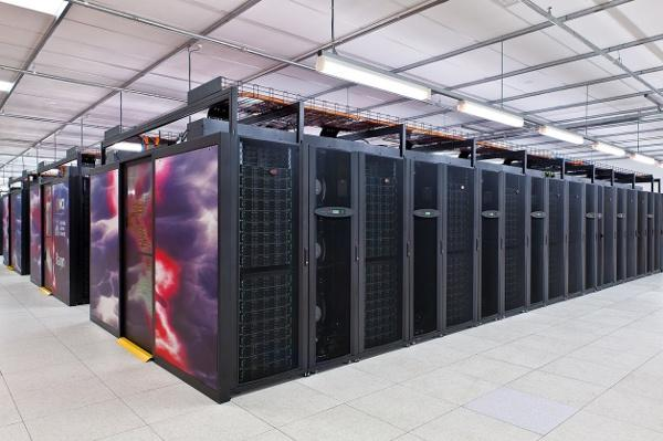 The Raijin supercomputer at the ANU.