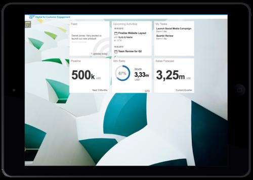 SAP Digital for Customer Engagement
