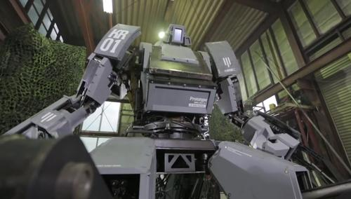 Giant mecha robots from Japan, US will meet in epic battle