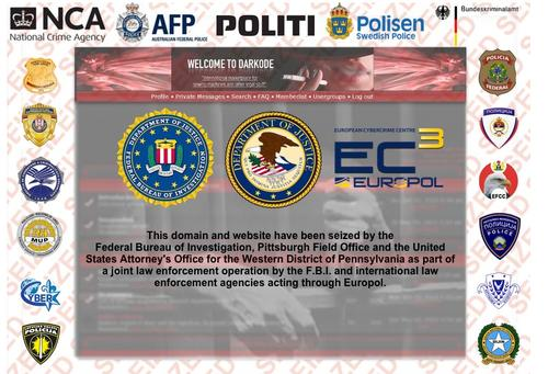 Darkode.com, an alleged criminal hacking forum, has been shut down by law enforcement agencies from 20 countries, the U.S. Department of Justice announced Wednesday, July 15, 2015.
