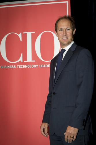 Shayne Tong at the CIO100 breakfast forum in Auckland.