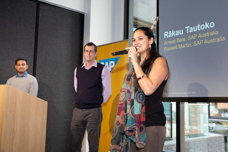 Rākau Tautoko founder and lead practitioner Tara Moala