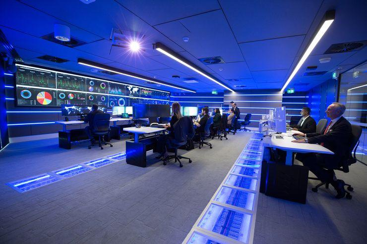 Telstra Security Operations Centre (SOC), in Sydney