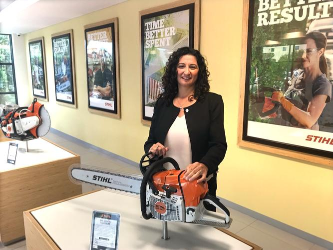 Stihl's head of IT, Therese Chakour-West