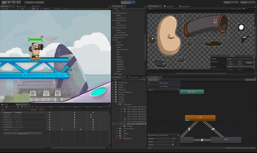 Unity has added support for 2D games development to version 4.3 of its cross-platform toolset