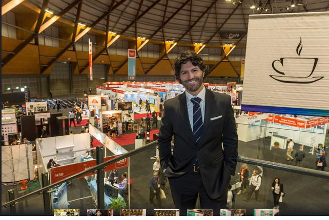 NSW minister for innovation, Victor Dominello, at CeBIT in Sydney