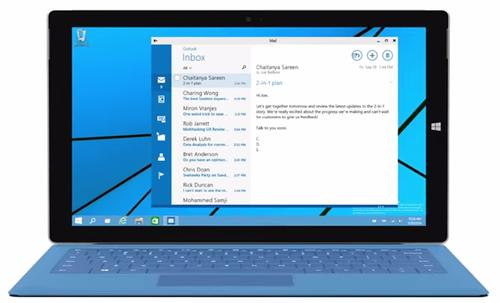 Windows 10's Continuum feature helps hybrid devices like the Surface behave like a tablet when it's standalone, and like a PC when the keyboard's connected.