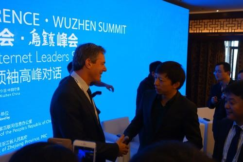 Qualcomm's Paul Jacobs at the World Internet Conference in China
