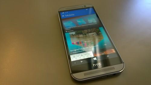 HTC's BlinkFeed is part news aggregator, part social app.