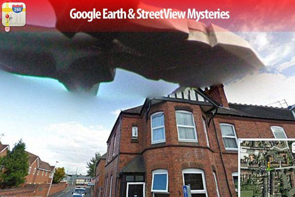 15 Google Earth and Street View Mysteries - Slideshow - CIO on google earth ufo, google street view alien, google street view cat,