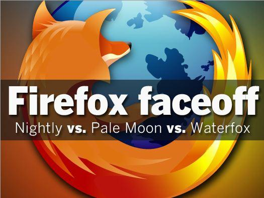 In Pictures: Firefox Faceoff - Nightly vs  Pale Moon vs