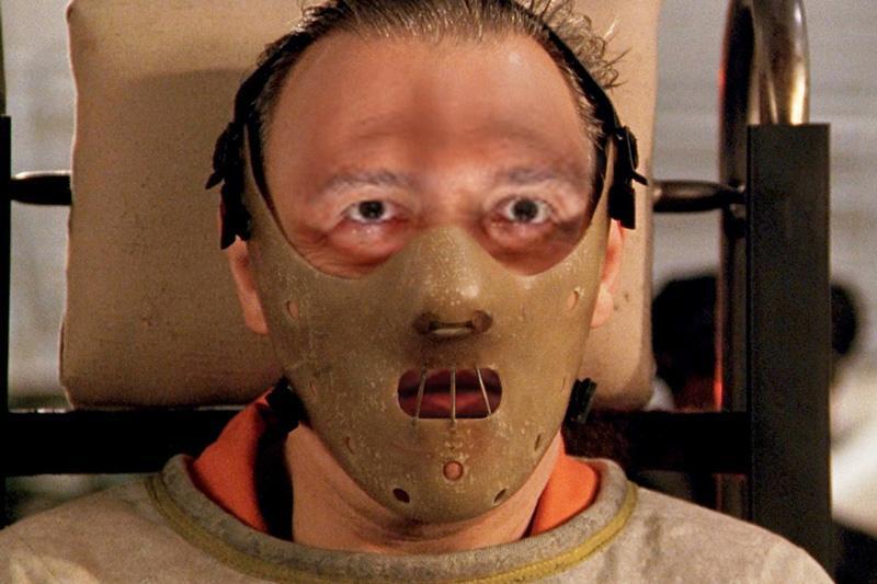 Hannibal Lector was a popular theme. (heavymetalpancakes)