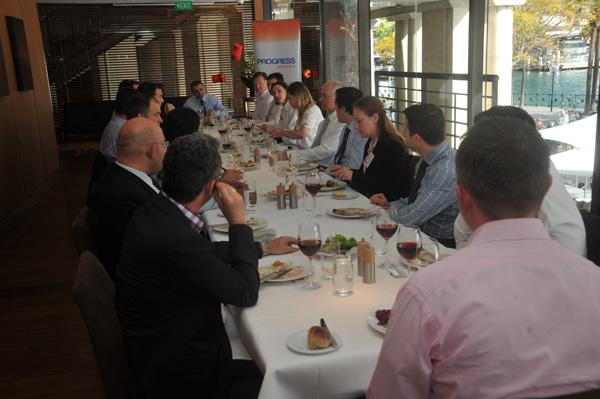 In pictures: CIO roundtable debates competitive advantage through business rules