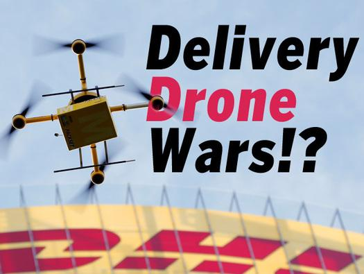 In Pictures: Delivery Drone Wars!?