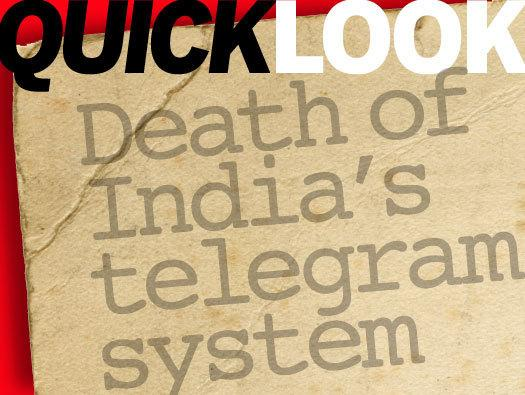 In Pictures: Death of India's telegram system