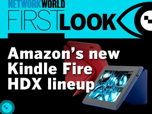 In Pictures: Amazon's new Kindle Fire HDX lineup