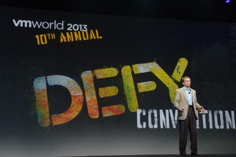 'Defy Convention': VMworld 2013 in photos