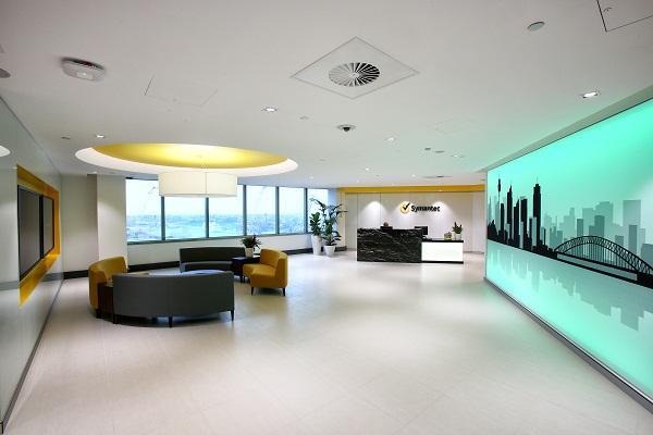Symantec opens 12m sydney office cio for 9 x 12 office design