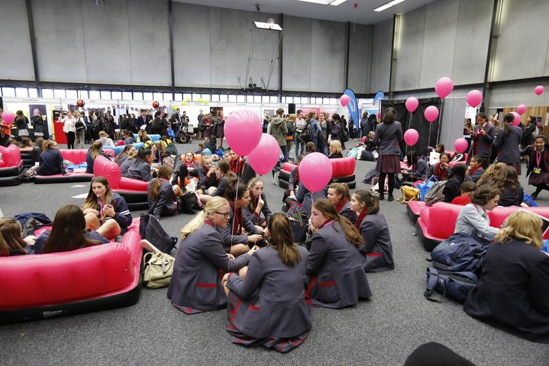 In pictures: Record turnout for 'Go Girl, Go for IT,' event at Deakin University in Melbourne