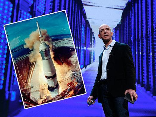 In Pictures: The high-tech world of Jeff Bezos