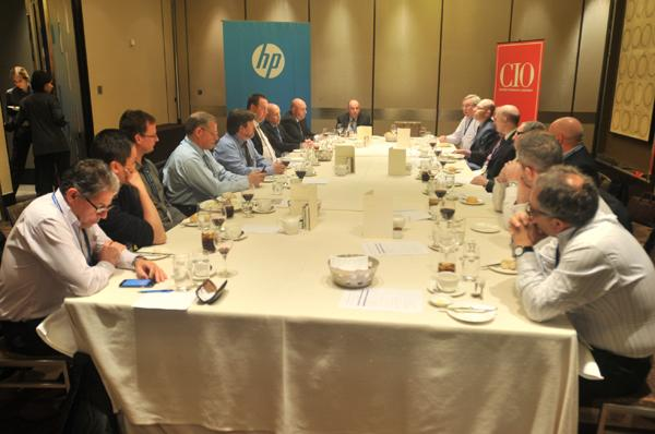 In pictures: CIO Summit Melbourne - roundtable lunch