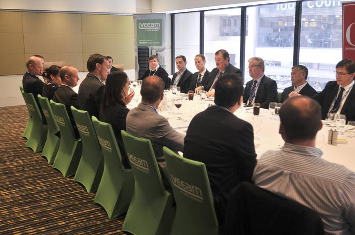 In pictures: CIO Summit lunch roundtable