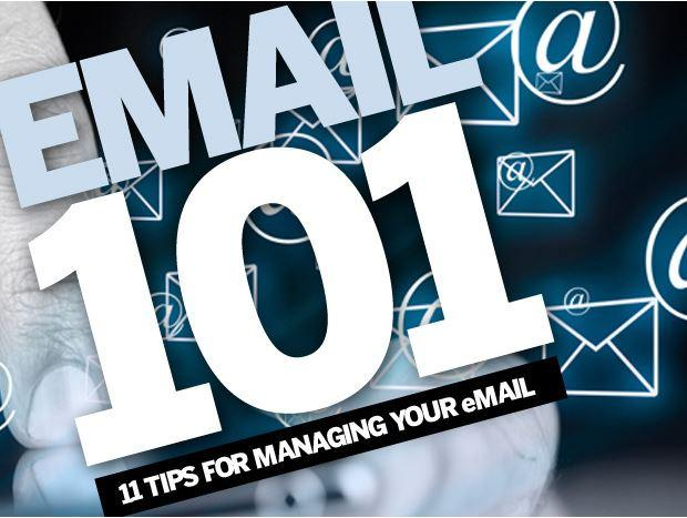 Email 101: 11 tips to manage your email