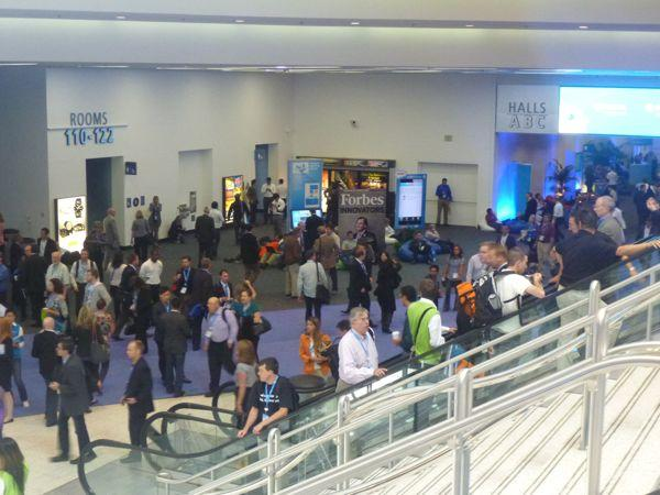 Dreamforce 2011 expo in pictures