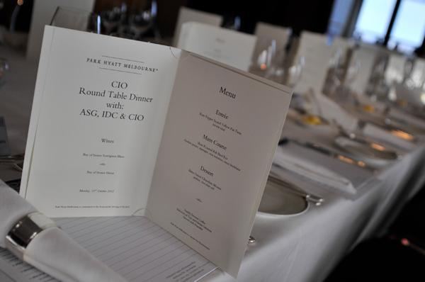 In Pictures: CIO Summit Melbourne 2012 dinner