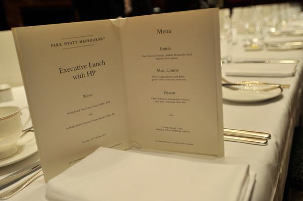 In Pictures: CIO Summit Melbourne 2012 lunch