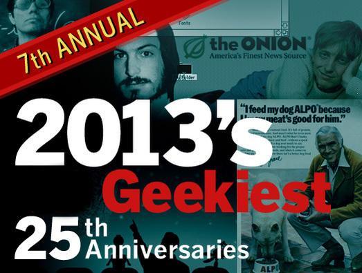 In Pictures: 2013's geekiest 25th anniversaries