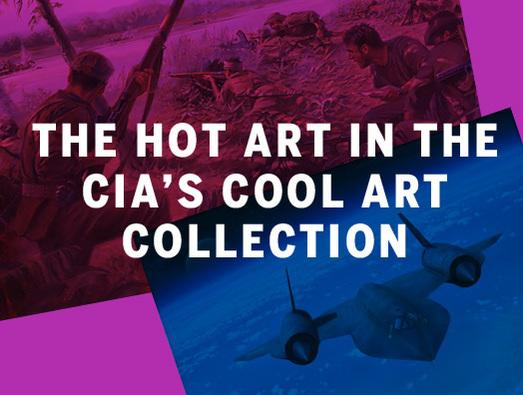 In Pictures: The hot art in the CIA's cool art collection