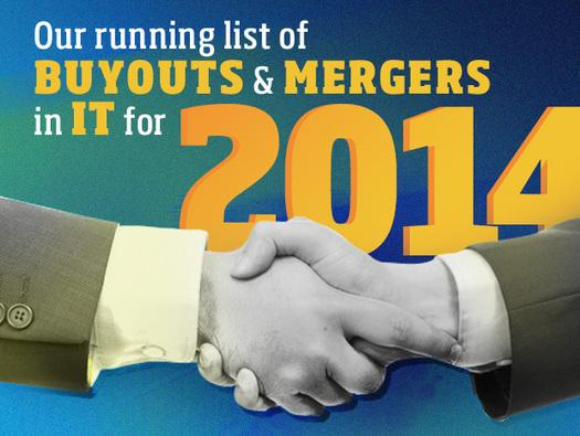 In Pictures: 2014 tech merger madness