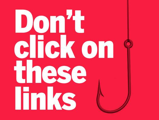In Pictures: Don't click on these links