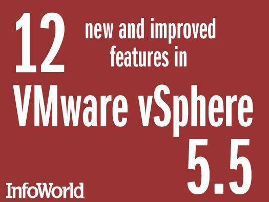 In Pictures: 12 new updates in VMware vSphere 5.5