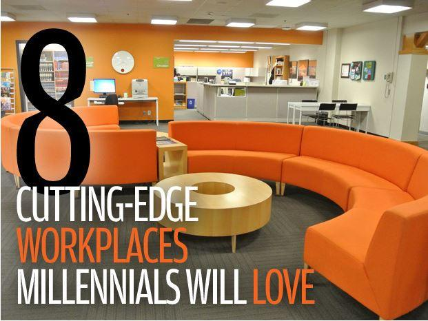 In Pictures: 8 cutting-edge workplaces that millennials will love
