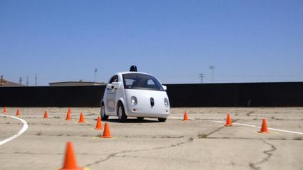 Google's self-driving car prototype