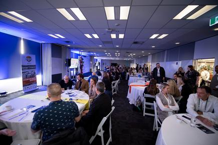 The launch was held at the Datacom building in Auckland.