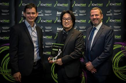Baldwins Researcher Entrepreneur Award for  Associate Professor Taehyun Rhee, Victoria University of Wellington: Taking New Zealand's virtual reality (VR) and augmented reality (AR) technology to the world.