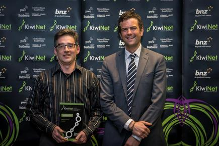 BNZ Supreme Award for (judges' vote combined with public vote) for Dr Andrew Kralicek, Plant & Food Research: Harnessing insects' receptors for commercial sensing