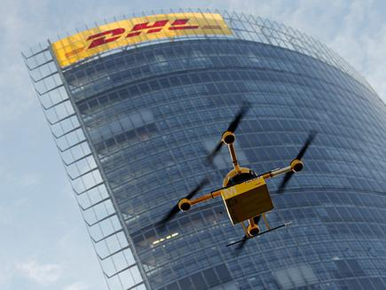 The DHL Parcelcopter prototype 'parcelcopter.