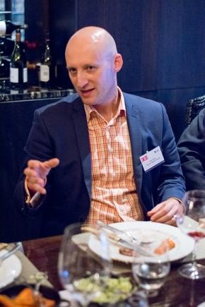 The author at a recent CIO roundtable discussion in Auckland.
