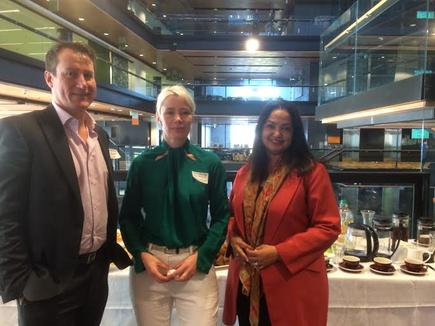 Edwina Mistry (right) of the Manukau Institute of Technology is one of the organisers of the Shadow IT program.