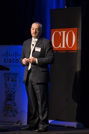 Martin Catterall talked about the evolving CIO agenda at the 2014 CIO100 event.
