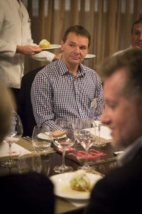 Rick Gibson at the CIO roundtable on 'Enterprise mobility: Platform for growth and innovation' at the Grill in SkyCity.