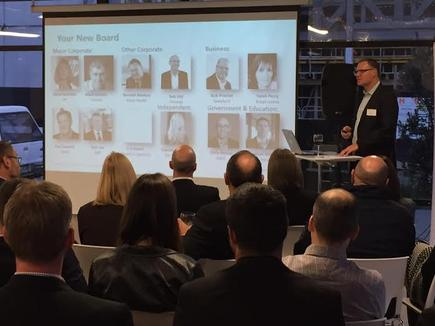 Bennett Medary, Simpl Group director and NZTech chair announces the new board members.