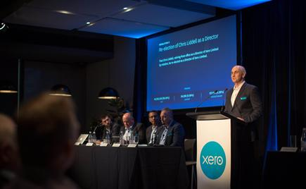 Chris Liddell, Xero Chair:  'Xero has significant opportunities ahead, with a huge addressable global market, an established product and platform, strong execution, improving margins and cash discipline.'